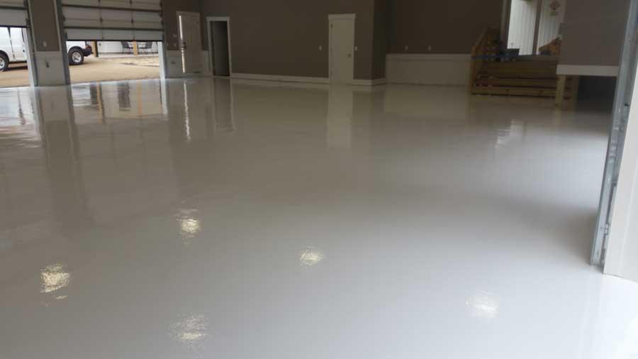 Resinous Epoxy Flooring   Findlay Ohio   United Concrete Doctor
