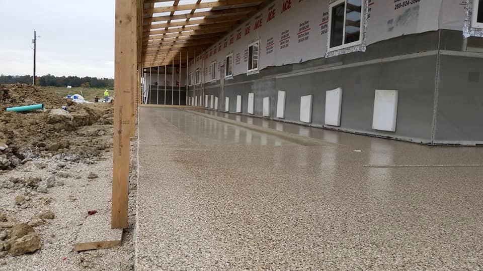 Barn Concrete Resurfacing | Spencerville Ohio | United Concrete Doctor