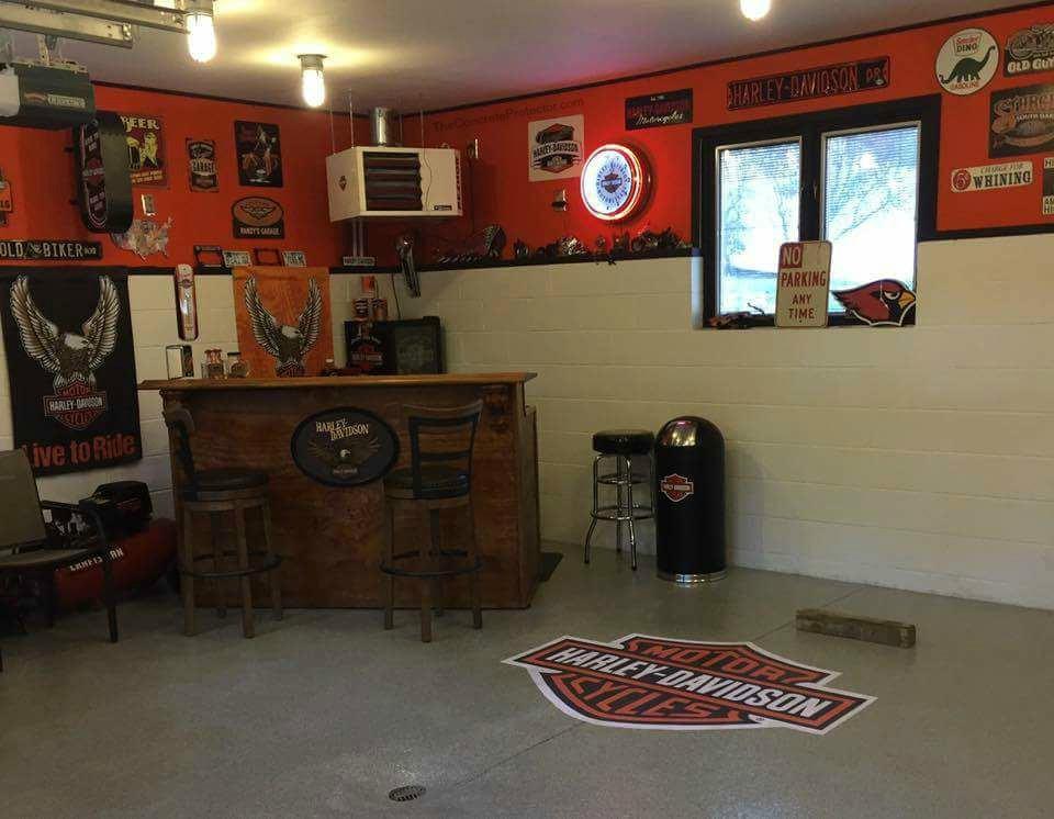 Epoxy Flake Flooring | Findlay Ohio | United Concrete Doctor