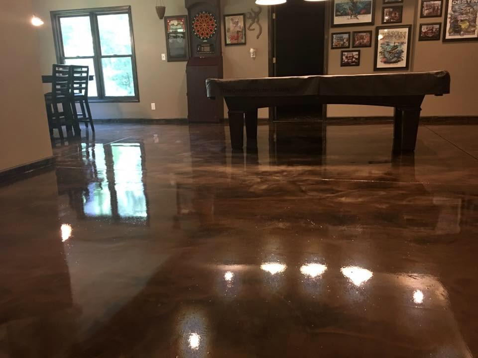 Marble Epoxy Flooring | Lima Ohio | United Concrete Doctor