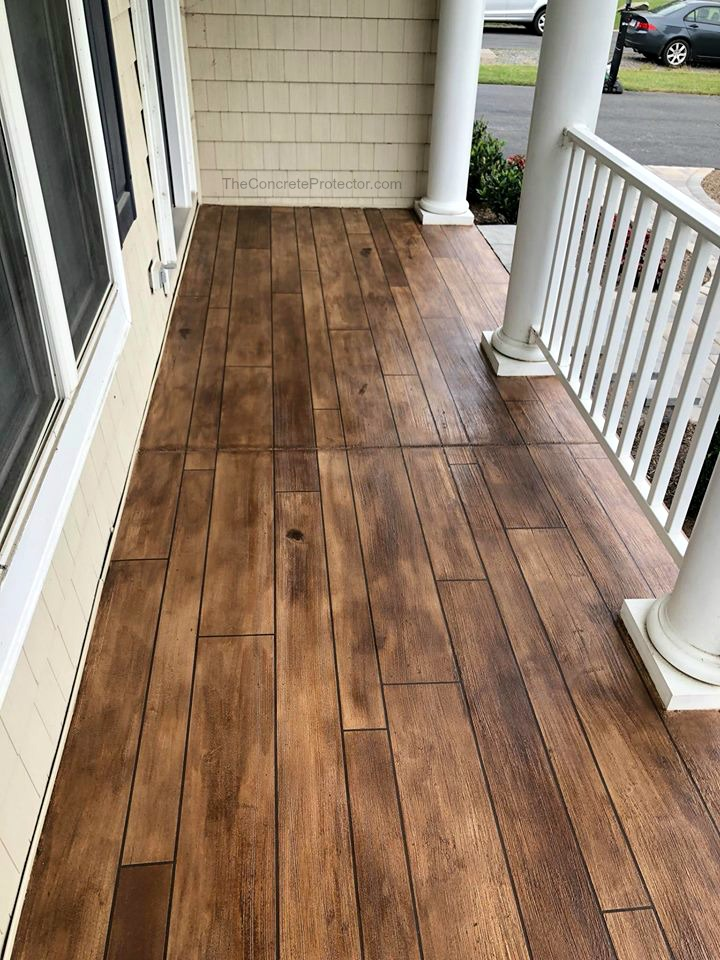 Concrete Wood Overlay | Bellefontaine Ohio | United Concrete Doctor