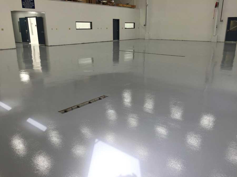 Resinous Epoxy Flooring   Lima Ohio   United Concrete Doctor